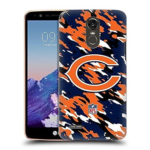 Official NFL Camou Chicago Bears Logo Hard Back Case for LG Stylus 3 / K10 Pro