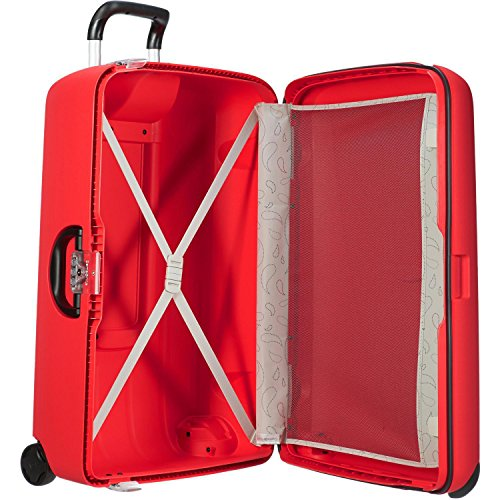 Samsonite Suitcase Termo Young, 67 cm, 69 L, Blue electric, 53389-1324 VIVID RED