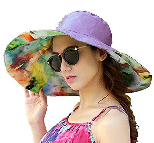Béisbol Sombrero de sol playa mar Mujer Protección Solar anti-UV gorra de  doble cara 1de660ecf13