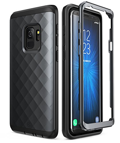 a1e22b0ec91 Samsung Galaxy S9 Case, Clayco [Hera Series] Full-Body Rugged Case Without