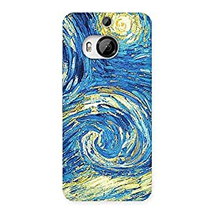 Modern Color Print Back Case Cover for HTC One M9 Plus