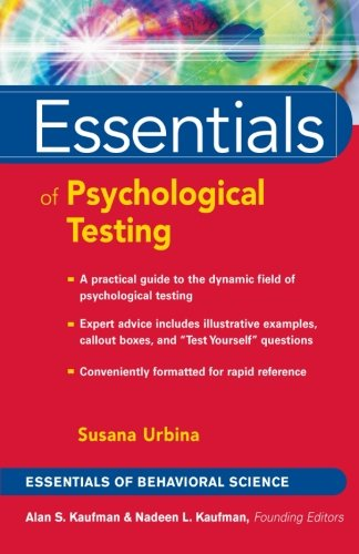 PDF][Download] Essentials of Psychological Testing