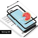 Panzerglas Samsung Galaxy S8 Panzerglas folie panzerglasfolie 9h panzerfolie schutzfolie YOSH® [Sensitive Touch] displayschutz durchsichtig hartglas - Gilt für die Handyhülle, Blasenfreie Installation(1 Stück)