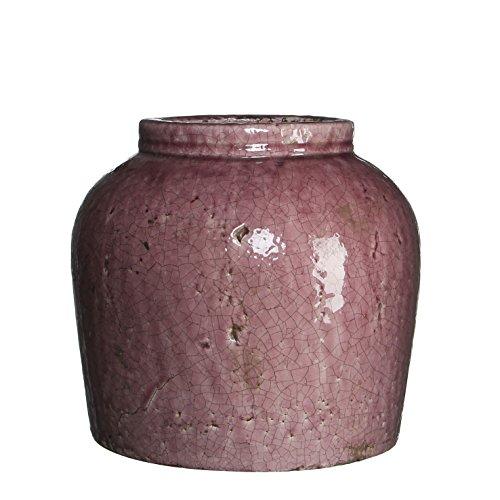 Mica Decorations 118281 Pot Ronde Karl H27d30 Violet