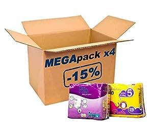 Méga Pack 8-15kg Pants Maxi Pillo 128 couches bébé