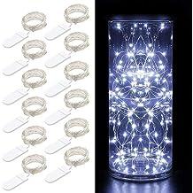 12 Packs Cadena de Luces, Govee 1m/3.3ft 20 LEDs Guirnaldas Luces con
