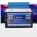 Leaftree - Autoradio GPS mit HD 7 Zoll Touchscreen, TF-Karte Bluetooth FM für uninversal