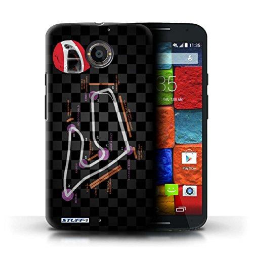 Kobalt® Imprimé Etui / Coque pour Motorola Moto X (2014) / USA/Austin conception / Série 2014 F1 Piste Autriche/Spielberg
