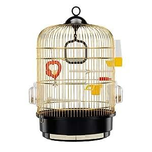 ferplast cage oiseau regina laiton animalerie. Black Bedroom Furniture Sets. Home Design Ideas