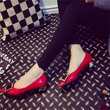 Confortevole ed elegante piatto scarpe scarpe donna tacco piatto Comfort Appartamenti Casual nero / rosso / grigio gray