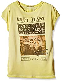 Pepe Jeans RITA-Camiseta Niños    Jaune (Sorbet Lemon) 12 años
