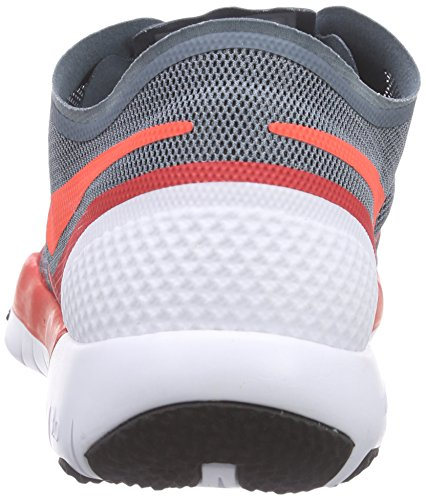 Nike Free Trainer 3.0 V3, Chaussures Multisport Indoor homme Multicolore - Mehrfarbig (Bl graphite/ht lv-drng rd-blck 410)