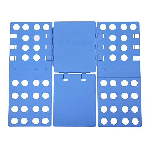 Songmics piega abiti regolabile piega pantaloni piega camicie piega magioni vestiti indumenti 57.5 x 69.5 cm blue lcf101
