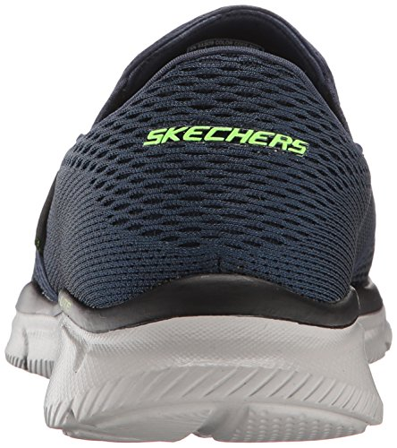 Skechers Equalizer-Double Play, Baskets Basses Homme Bleu (Navy)