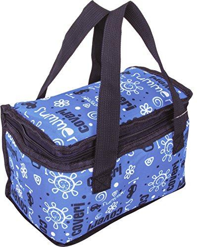 Bazoom borsa frigo termica per bambino, perfetta per trasportare il pranzo e la merenda dei vostri figli, capacità 5 litri, vari colori (azzurro)