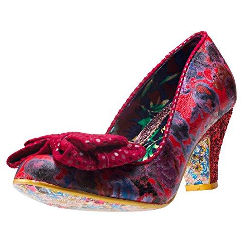 Irregular ChoiceBan Joe - Scarpe con Tacco donna Red Floral