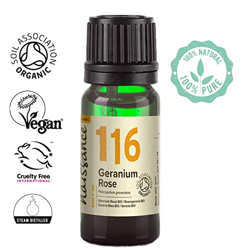 Naissance Rosengeranie 10ml BIO zertifiziert 100% naturreines ätherisches Öl