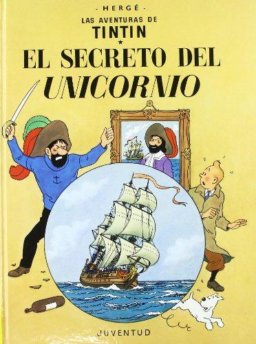 C- El secreto del Unicornio (LAS AVENTURAS DE TINTIN CARTONE) por HERGE-TINTIN CARTONE II