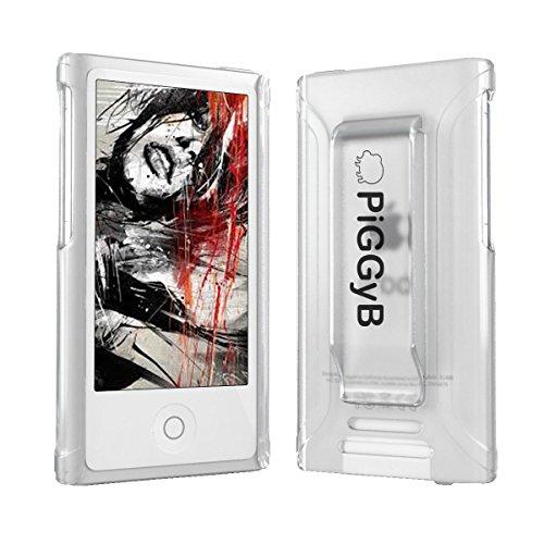 Besten Ipod Nano Armband (PiGGyB Clip IT! Schutzhülle mit Gürtelclip für iPod Nano 7 / 7G, farblos)