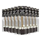 Marc & Kay Schoko Zartbitter Stick mit Marshmallows, 10er Pack