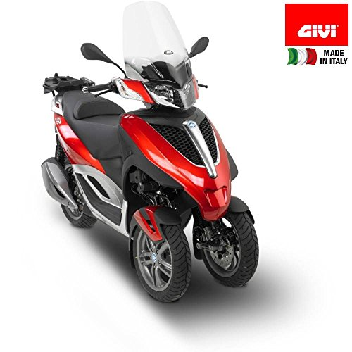 Windshield D5600ST GIVI Piaggio MP3 YOURBAN 125-300 (11-13) New - Piaggio Mp3 Yourban