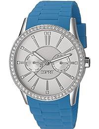Esprit Damen-Armbanduhr Double Infusion Analog Quarz Leder