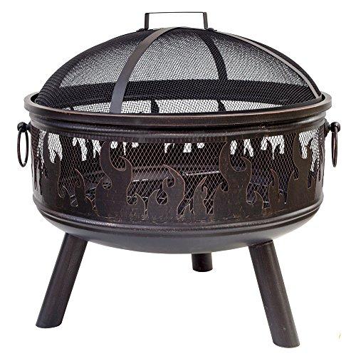La Hacienda Wildfire Firepit & Grill