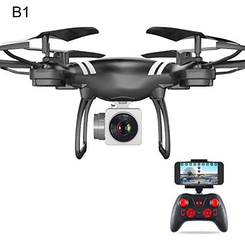 RC Drone 2,4 GHz 6-Achsen-Gyroskop Quadcopter Headless-Modus 360 Drehen FPV Höhe Halten mit HD 2.0MP Kamera Drohne Echtzeit-Übertragung Antenne Fernbedienung Flugzeug 5G Wifi Dedicated ESC Large Modu