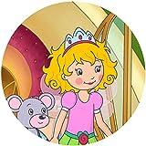 Fondant Tortenaufleger Tortenbild Geburtstag Prinzessin Lillifee T1