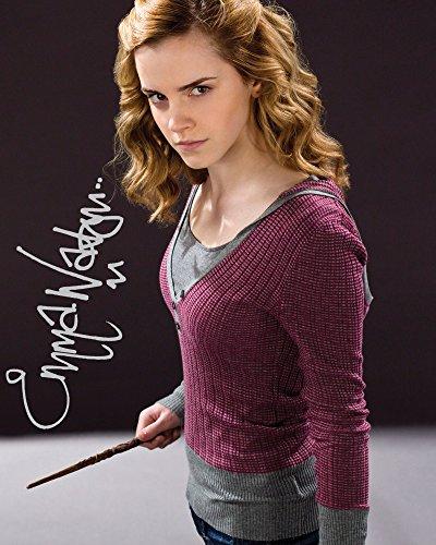 Frame Smart Emma Watson #2 Harry Potter   gedrucktes Unterschriftenfoto   10x8 Größe passt 10x8 Zoll Rahmen   Fotoqualität Labordrucker   Fotoanzeige   Geschenk Sammlerstück