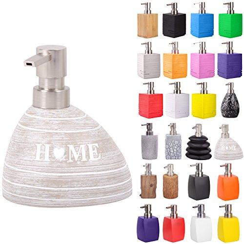 Seifenspender | viele schöne Seifenspender zur Auswahl | elegantes, stylisches Design | Blickfang für jedes Badezimmer (Home)