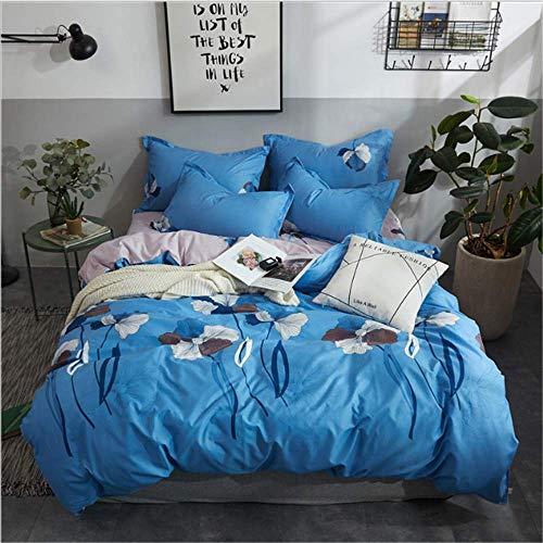 wäsche-Sets Duver Bettbezug Kissenbezug Soft King Queen Size Für Mädchen D 220x240cm ()