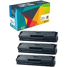 Do it Wiser ® - 3 Cartuchos de Tóner Compatibles para Samsung MLT-D111S/ELS Xpress SL-M2020 SL-M2022 SL-M2026 SL-M2070 SL-M2078