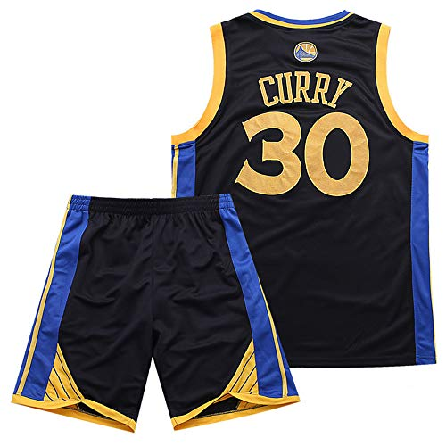 Da Uniforme Basket Tuta Pantaloncini Maglia 30 Warriors Curry Nba Nm80nwvO