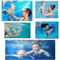 Premium Quality,Soft, Washable,Adjustable, Reusable, Baby Swim Diaper - (One Size - Random Color)