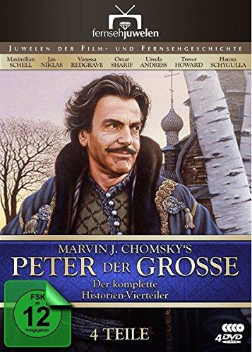 Bild von Peter der Große - Der komplette Vierteiler (4 DVDs) - Fernsehjuwelen