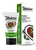 TATTOOLICIOUS® Fixer - 75 ml - Crema lenitiva Biologica specifica per la Cura del Tatuaggio con ingredienti bio dalle proprietà cicatrizzanti