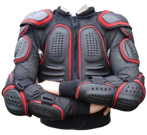 GearX Motocross corpo armatura schiena protezione giacca