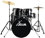 "XDrum Rookie 20"" Studio Batteria acustica completa, nera, professionale, scontatissima, affare - XDrum - amazon.it"