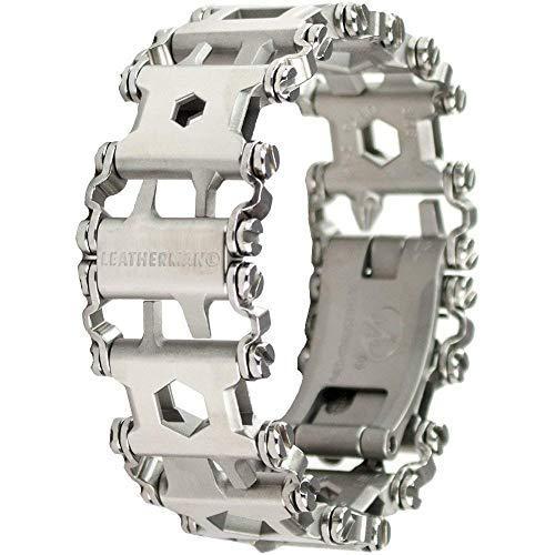 Leatherman - Profil-Armband Das Original Reisefreundliches tragbares Multitool Edelstahl alle Glieder vorhanden unbenutzt