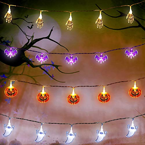 - Lila Led Halloween Lichter