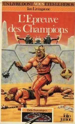 L'Epreuve des champions par Livingstone