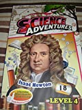 Isaac Newton - Science Adventures Level 4 Issue 18 / Full Color Science Comic Magazine for Children / Printed in Singapore / English Corner of SA and Young Readers Express / Engaging Reading for Children Age 11-14 / Self Study
