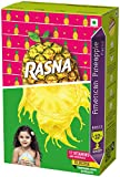 #9: Rasna Fruit Fun 32 Glass monocarton, American Pineapple Pack of 5