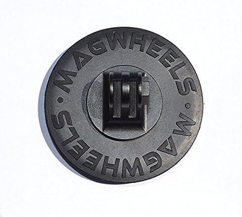 magwheels magnetisch Kamera Halterung w/rutschfeste kratzfest Gummi Beschichtung für alle GoPro Kameras