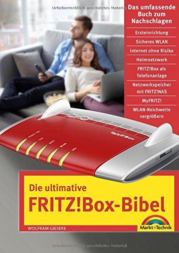 Die ultimative FRITZ!Box Bibel – Das Praxisbuch - mit vielen Insider Tipps und Tricks - komplett in Farbe Buch Boxen