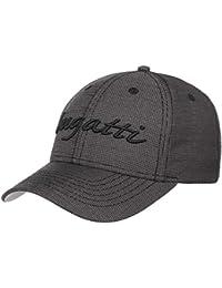 bugatti Script Baseballcap Basecap Kappe Baumwollcap Cap Mütze mit Klettverschluss Strapback Basecap Cap Baumwollcap Metallschnalle