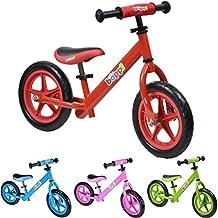 boppi® Bicicleta sin pedales de metal para niños de 2-5 anos - Roja