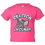 Camiseta niño Céltica desde la cuna Celta Vigo fútbol - Rosa, 9-11 años