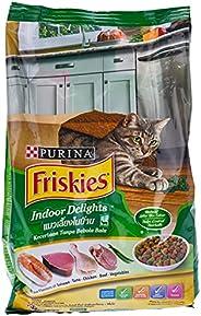طعام القطط الجاف من بورينا فريسكيس اندوور ديلايتس، 1.1 كغم
